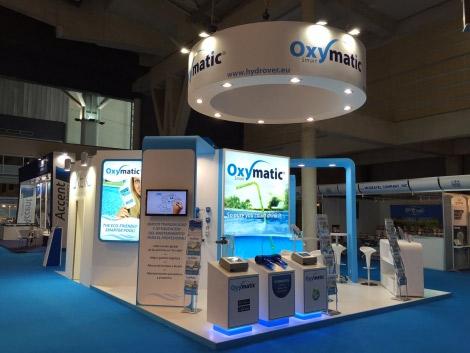 Balance positivo de la presencia de Oxymatic Smart en el salón internacional Piscina & Wellness Barcelona