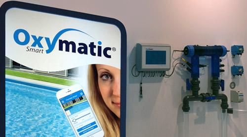 Oxymatic Smart® el sistema que controla en todo momento el estado de la piscina y gestiona globalmente la desinfección del agua