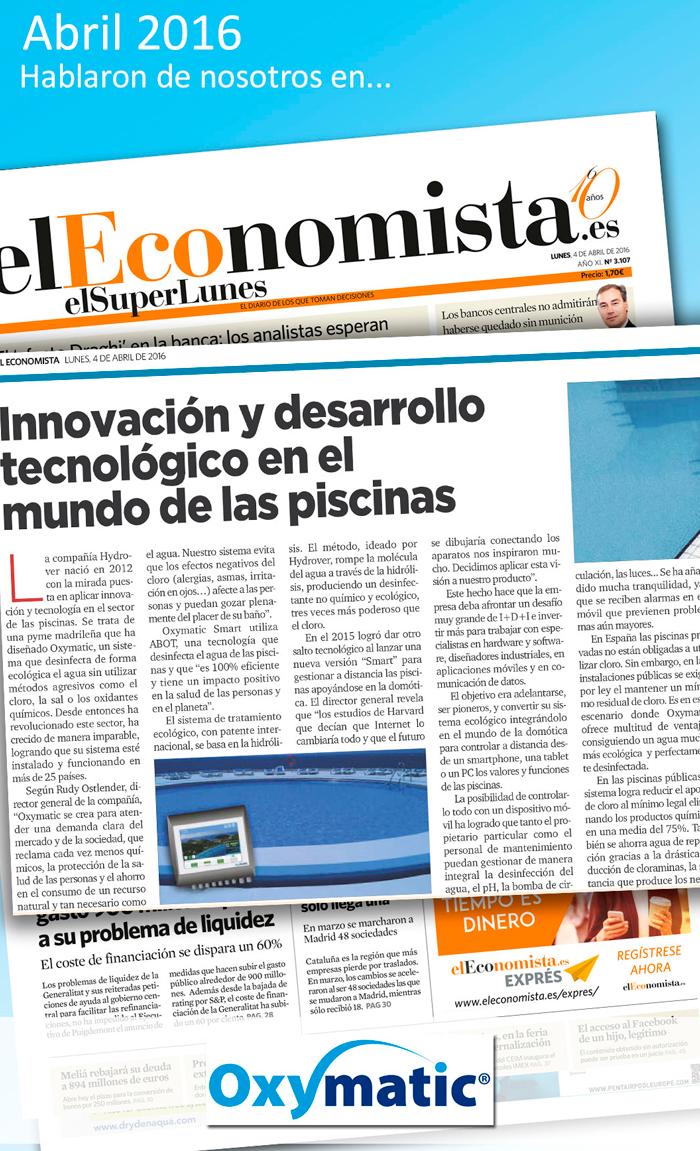 El Economista - Abril 2016