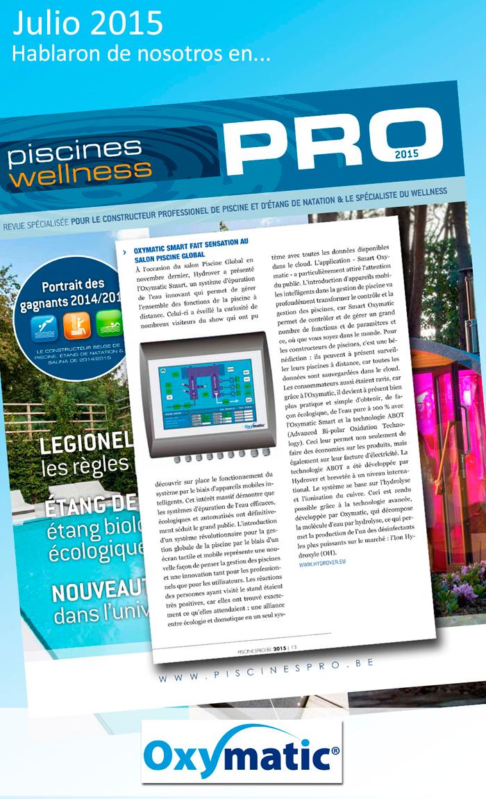 Piscines PRO Bélgica Julio 2015