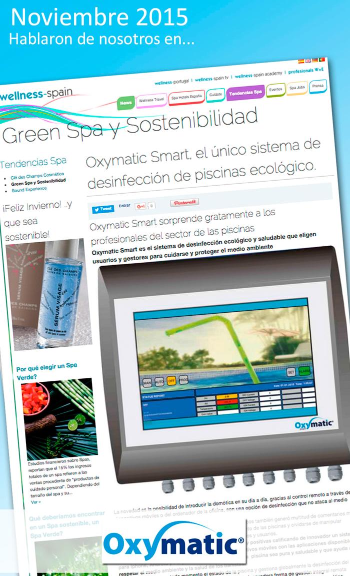 Green Spa y Sostenibilidad – Noviembre 2015